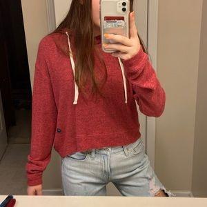 Reallyyy soft garnet/red BRAND NEW Holister hoodie